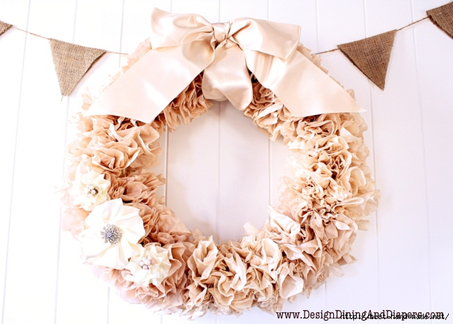 Tea-Stained-Coffee-Filter-Wreath (650x465, 206Kb)