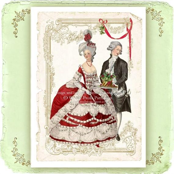 Первые открытки франции, красивого