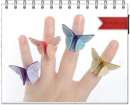 Бабочка заколка из ткани. Фото мастер класс/3518263_bab (434x352, 159Kb)