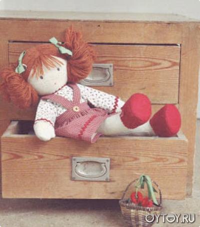 Шьем куклу с большими ногами мастер класс поделка #2