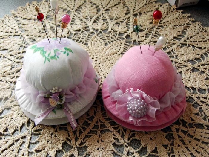 Игольница шляпка своими руками фото схемы мастер классы очень легко и красиво