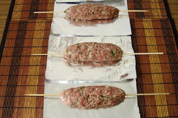 люля кебаб из говядины рецепт
