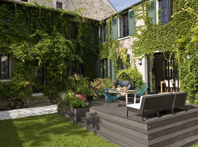 French provence liveinternet for Agencement jardin terrasse