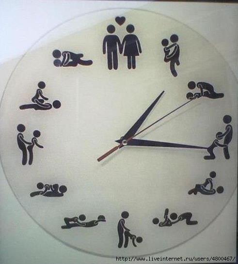Секс часы циферблат