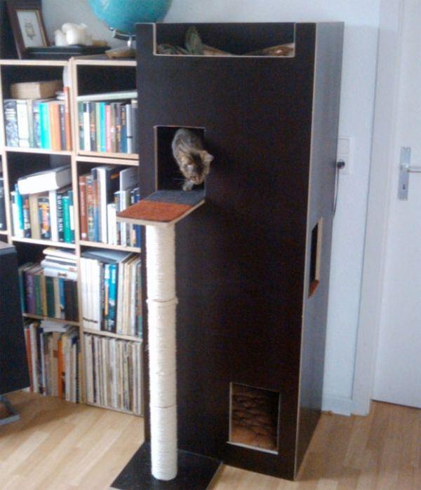 Креативные дома для котов2 (600x699, 53Kb)