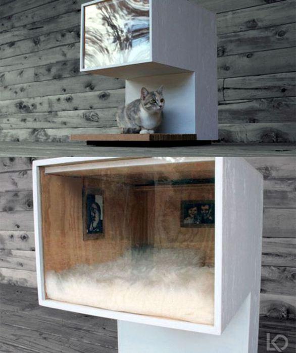 Креативные дома для котов4 (586x700, 55Kb)