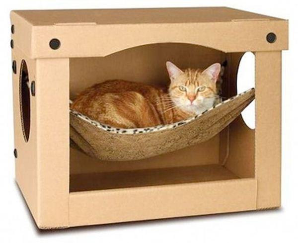 Креативные дома для котов8 (600x489, 33Kb)