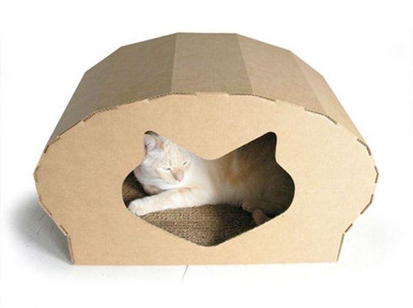 Креативные дома для котов30 (600x448, 21Kb)