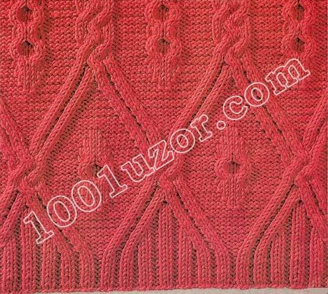 вязание 1001 узор спицами схемы