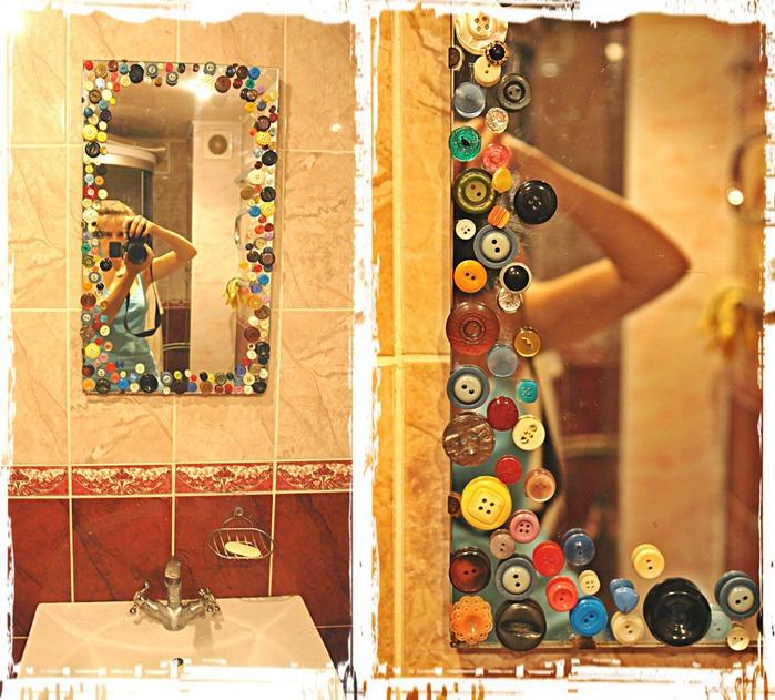 Как задекорировать зеркало своими руками