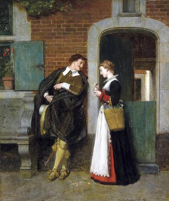 Florent Joseph Marie Willems (1823 - 1905) (587x700, 91Kb)