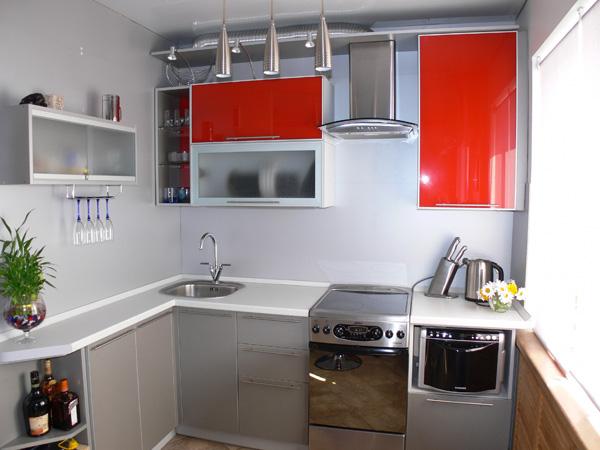 Кухни эконом класса для маленькой кухни