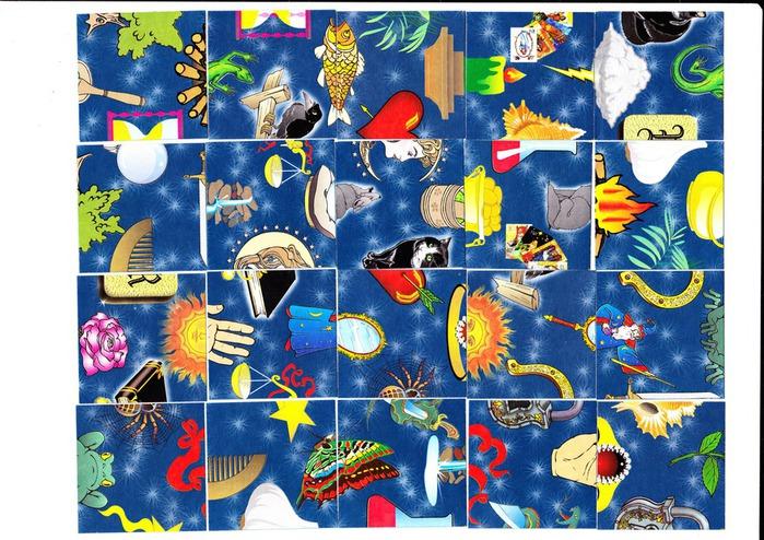 утверждённая карты картинки для старинного пасьянса установку