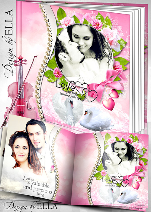 WB and DVD cover  in pink by ELLA (500x700, 148Kb)