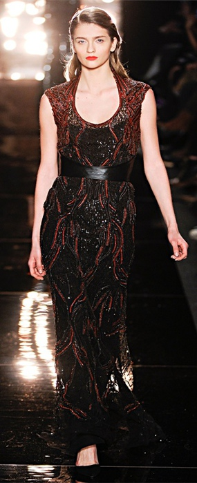 Monique Lhuillier Collections Fall Winter 2012-13 (285x700, 85Kb)