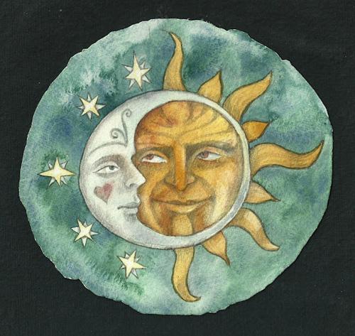 doug & cari wedding sun & moon (500x473, 131Kb)