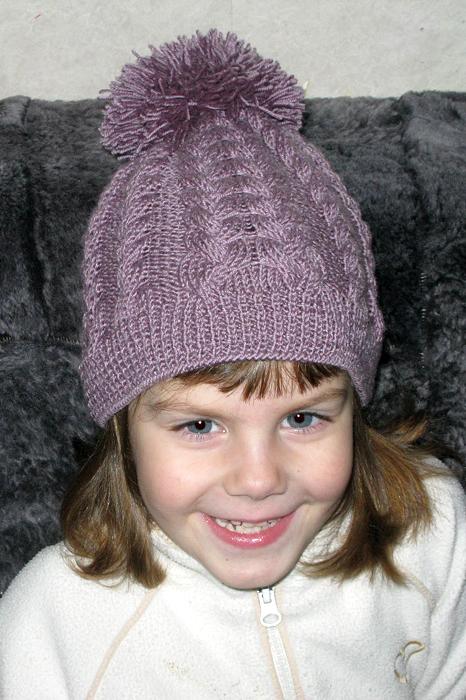 Шапка для девочки спицами 36 моделей с описанием, Вязание