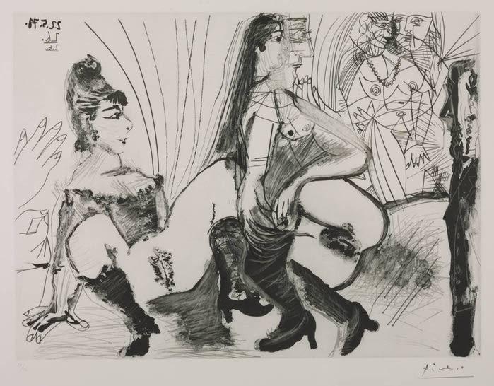 Порно рисунки арт художников