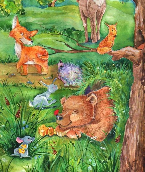Открытки, картинки весна в лесу детям