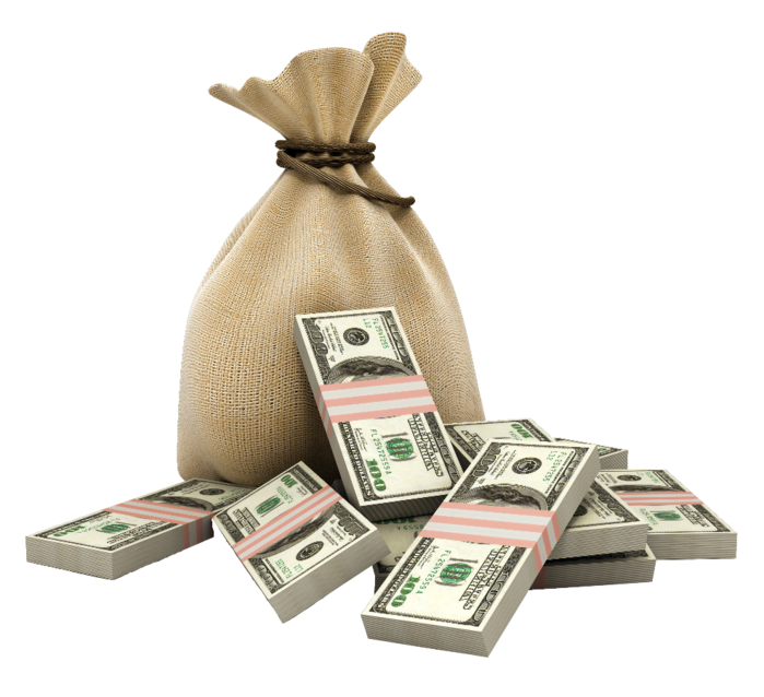 картинки на прозрачном фоне деньги