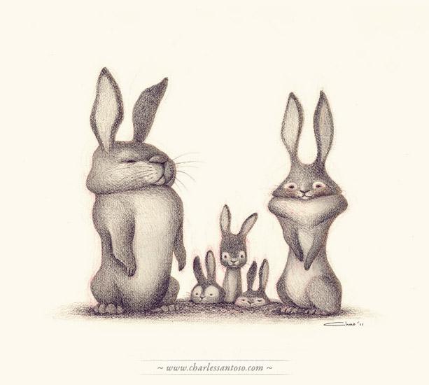Кролики смешные рисунки, менеджер картинки