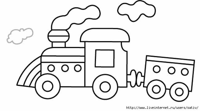 Картинки для раскрасок транспорт 100