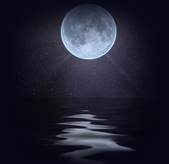 картинки луна живая имеет
