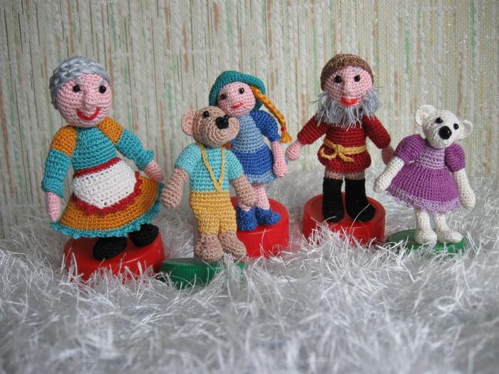 кукольный театр записи в рубрике кукольный театр вязаные игрушки