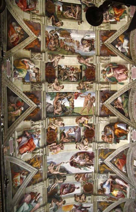 Сикстинская капелла фото фресок боттичелли