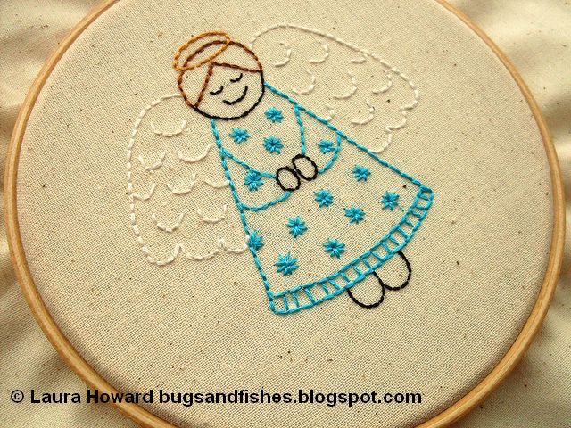 angel embroidery pattern 1 (640x480, 110Kb)
