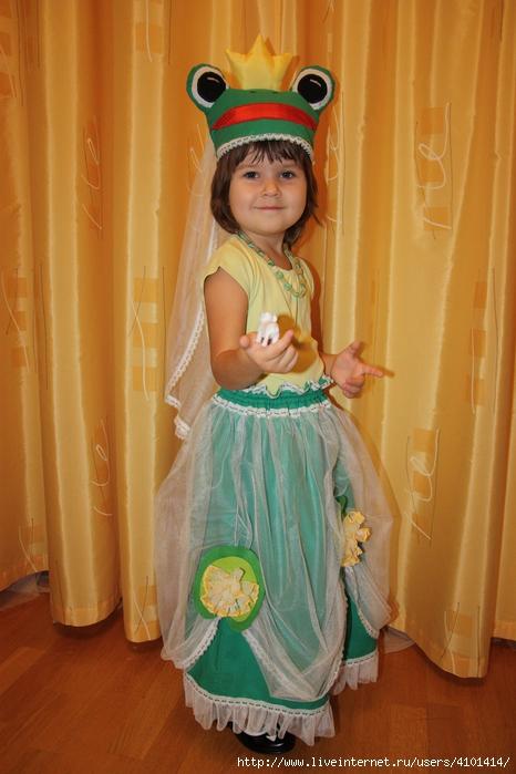 Царевна-лягушка (костюм карнавальный). Обсуждение на ... - photo#37