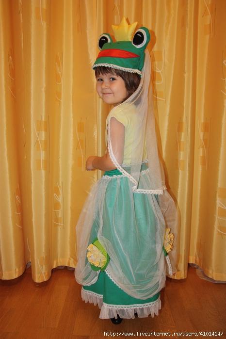 Царевна-лягушка (костюм карнавальный). Обсуждение на ... - photo#42