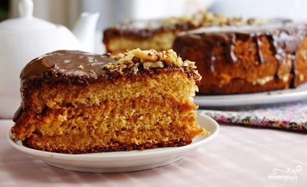 рецепт медовый бисквит с фото