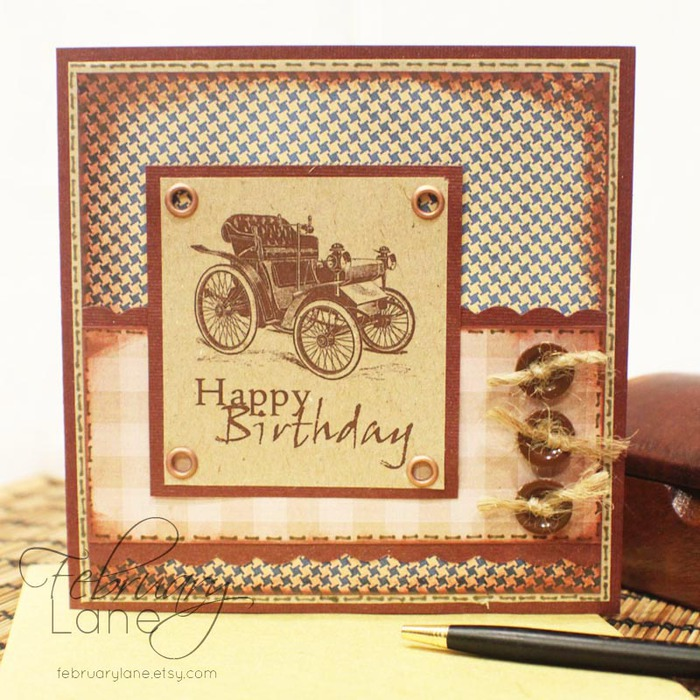 С днем рождения ретро открытки мужчине с днем рождения