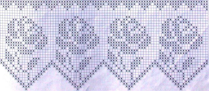 филейное вязание записи в рубрике филейное вязание дневник