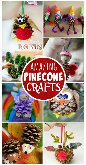 amazing-pinecone-crafts-for-kids-to-make (336x646, 409Kb)