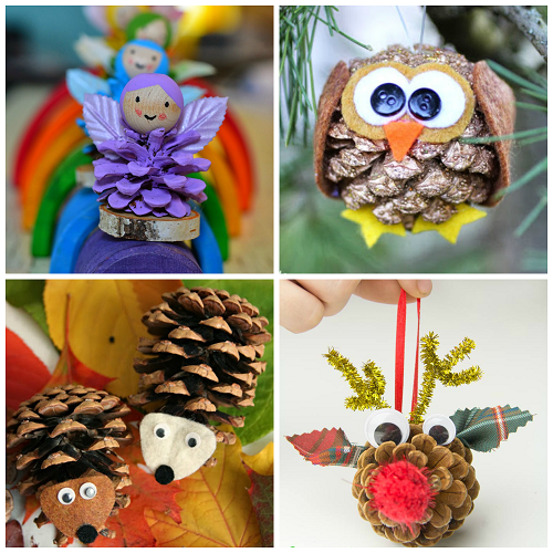 pinecone-crafts-for-kids-to-make (500x500, 467Kb)