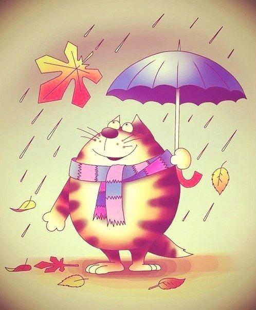 Смешная картинка дождь идет, поздравить мужа