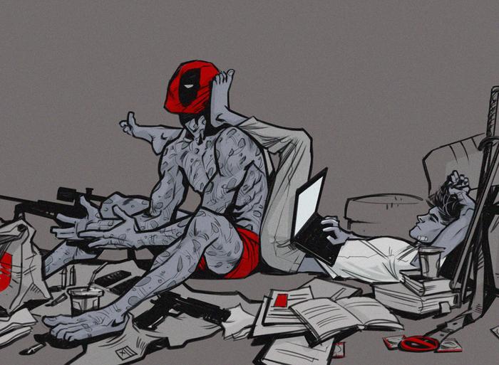 Мультфильм секс с человекам пауком матерится