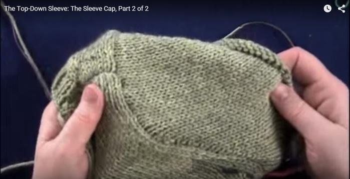 Вязание рукава сверху Записи в рубрике вязание 26