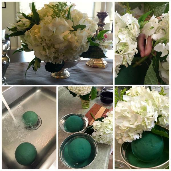 Флористическая губка как сделать букет