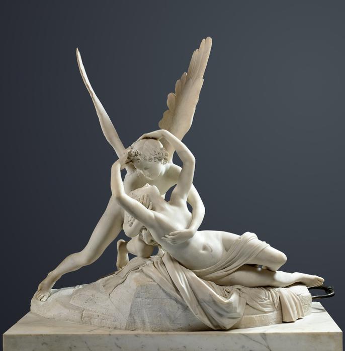 Antonio Canova PsychГ© et l'Amour Louvre (4) (686x700, 229Kb)