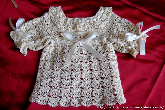На нашем сайте вы найдете целые разделы посвященые вязанию для малышей, которые включают схемы и советы по вывязыванию нежных и красивых нарядов для детишек.