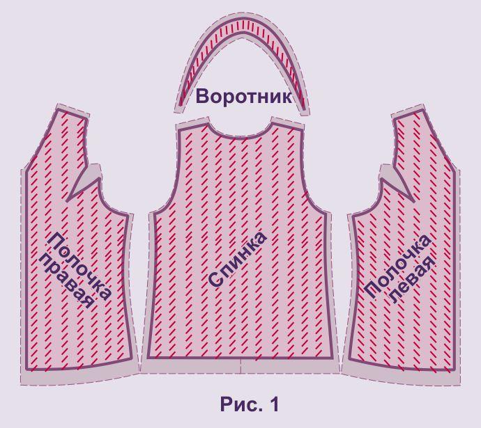 Как сшить жилет - выкройка от Анастасии Корфиати