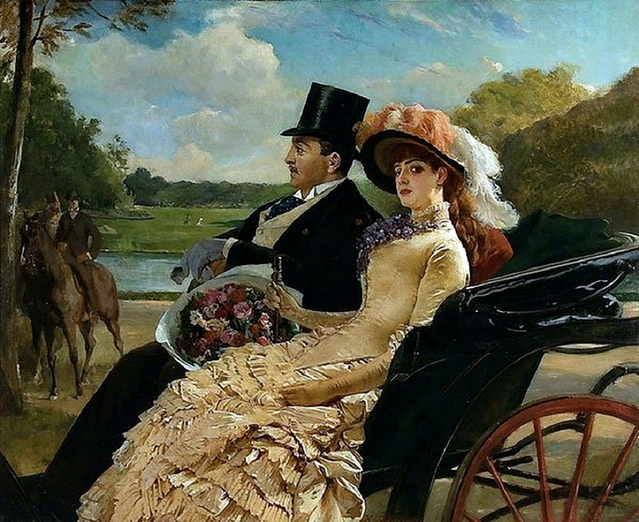 a-ride-in-the-park_by-henry-guillaume-schlesinger (700x572, 348Kb)