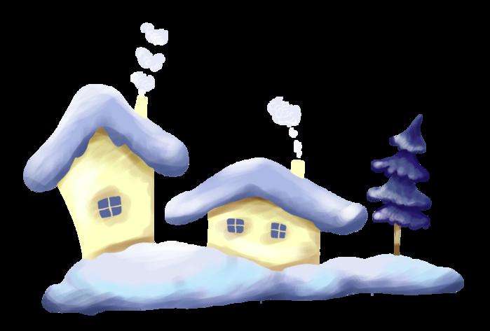 Снежный дом картинка для детей