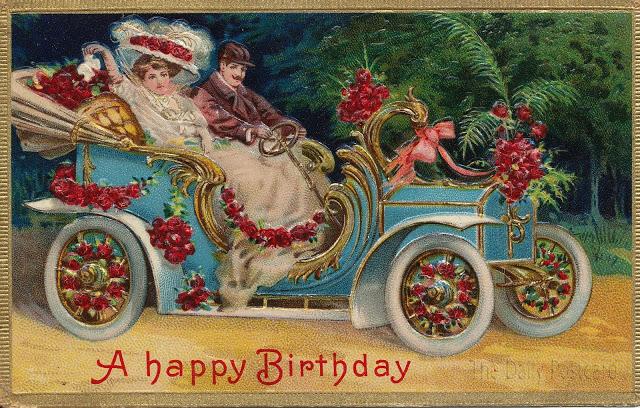Шаблоны днем, старинные открытки с днем рождения 19 век мужчине