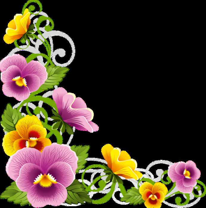 Corner Floral Garden Area: Красивые цветы PNG. Обсуждение на LiveInternet