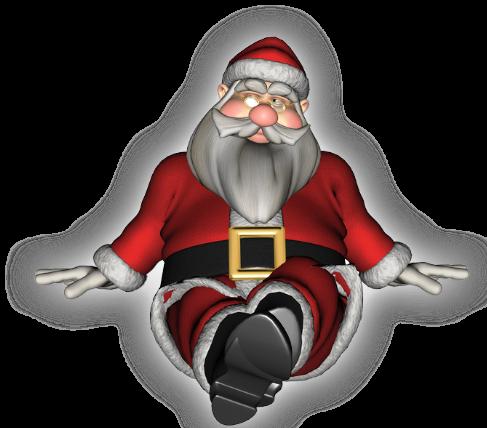 Дед мороз гифка пнг