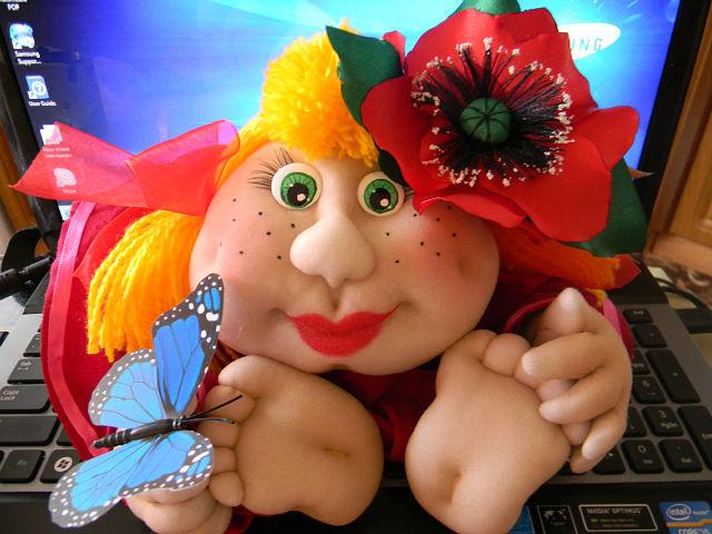 Доброе утро куколки прикольные, днем любви
